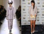 Lily Allen In Chanel Couture - Ivor Novello Awards