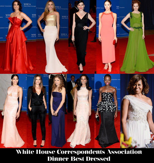 Who Was Your Best Dressed At The White House Correspondents' Association Dinner