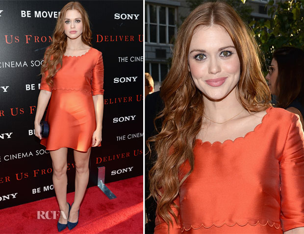 Holland Roden In Philosophy - 'Deliver Us From Evil'  New York Screening