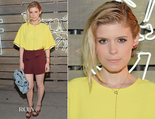 Kate Mara In Sandro - 2014 Summer Party presented by Coach and Friends Of The Highline