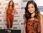 Lucy Hale In American Rag - American Rag's 'ALL ACCESS' Campaign
