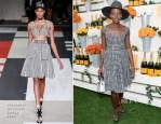 Lupita Nyong'o In Alexander McQueen - Veuve Clicquot Polo Classic 2014