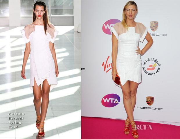 Maria Sharapova In Antonio Berardi - WTA Pre-Wimbledon Party