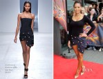 Mel B In Anthony Vaccarello - X Factor UK Manchester Auditions