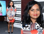 Mindy Kaling In Emma Cook - Awardsline/Deadline Screening Of 'The Mindy Project'
