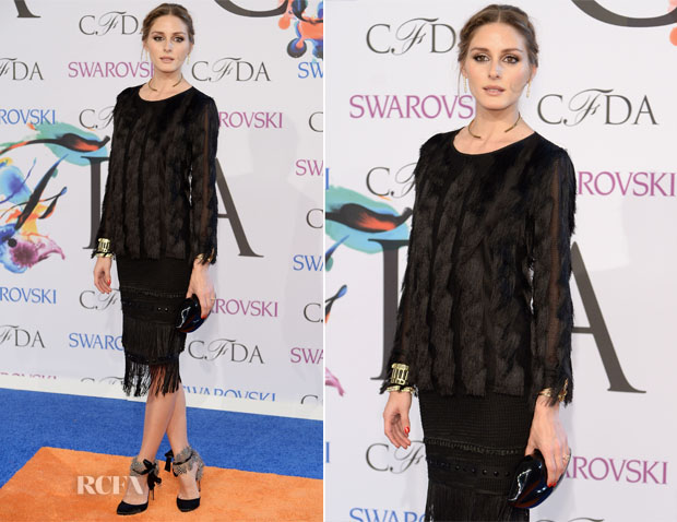 Olivia Palermo In Ann Taylor - 2014 CFDA Fashion Awards