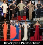 Which Was Your Favourite Shailene Woodley 'Divergent' Promo Tour Look?