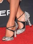 Zoe Saldana's Jimmy Choo shoes