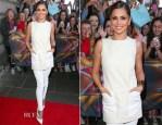 Cheryl Cole In Alexander McQueen & J Brand - X Factor Edinburgh Auditions