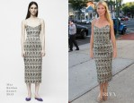 Gwyneth Paltrow In Wes Gordon - 'Hector and the Search for Happiness' Hamptons Screening