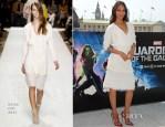 Zoe Saldana In Chloé – 'Guardians Of The Galaxy' London Photocall