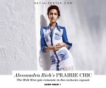 Alessandra Rich's Prairie Chic Capsule Collection