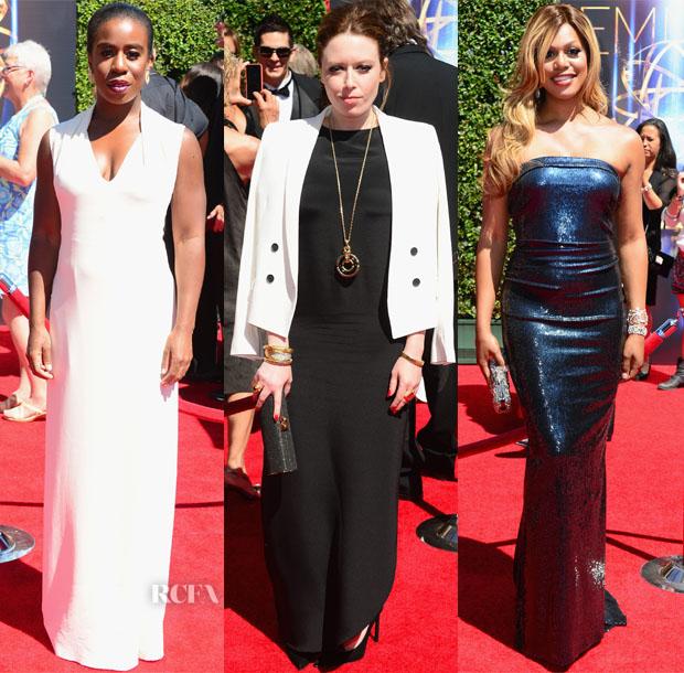 Orange Is The New Black Stars @ The 2014 Creative Arts Emmy Awards