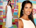 Padma Lakshmi In Ralph Rucci - HBO's Emmy Awards Post-Awards Reception