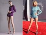 Taylor Swift In Mary Katrantzou - 2014 MTV Video Music Awards #VMA