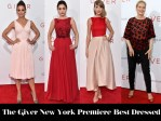 Who Was Your Best Dressed At 'The Giver' New York Premiere?
