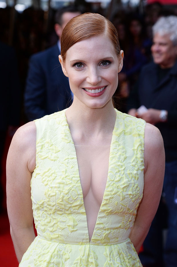 Jessica Chastain  Salome And Wilde Salome London