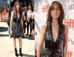 Charlotte Gainsbourg In Louis Vuitton - 'Samba'  Toronto Film Festival Premiere