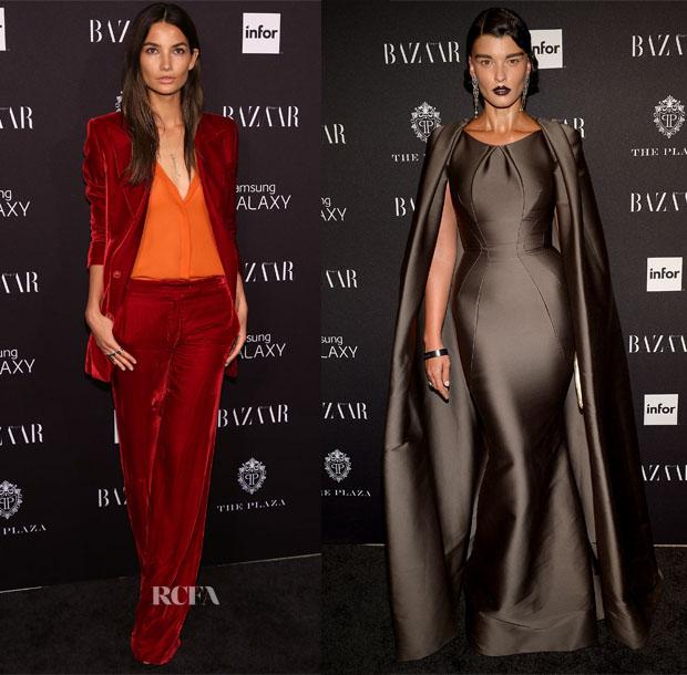 Harper's BAZAAR Celebrates Icons By Carine Roitfeld Carpet Roundup