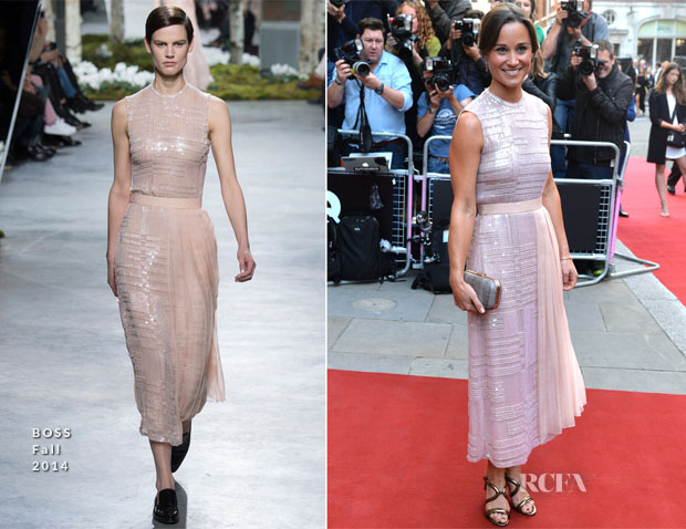 Pippa Middleton In BOSS - 2014 GQ Men of the Year Awards