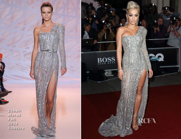 Rita Ora In Zuhair Murad Couture -  2014 GQ Men of the Year Awards