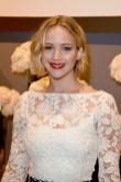 Jennifer Lawrence in Oscar de la Renta