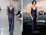 Anne Hathaway In Richard Nicoll - 'Interstellar' LA Premiere