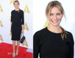 Cameron Diaz In Isabel Marant - The Academy Hosts Hollywood Costume Private Luncheon