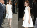 Emma Stone In Giambattista Valli - Good Morning America