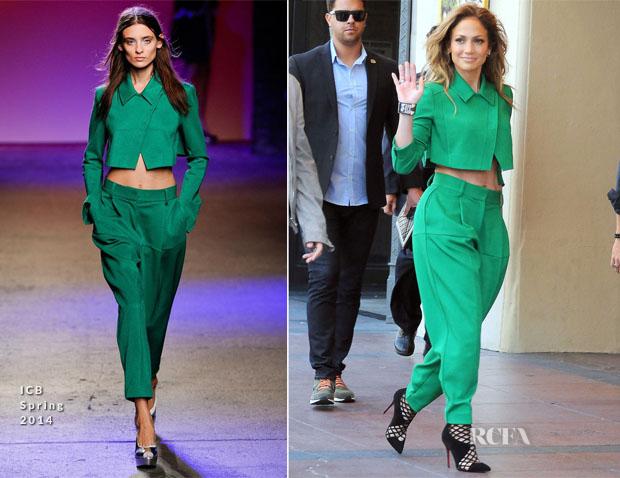 Jennifer Lopez In ICB - 'American Idol' 'Hollywood Week' Auditions