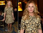 Julia Roberts In Gucci - 10th Annual GLSEN Respect Awards