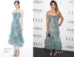Nikki Reed In Marchesa - Elle's 21st Annual Women In Hollywood Celebration