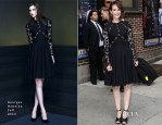 Sarah Paulson In Georges Hobeika - Late Show With David Letterman