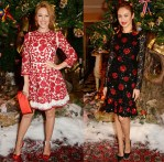 Claridge's & Dolce And Gabbana Christmas Tree Party