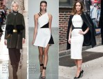 Emily Blunt In David Koma & Tory Burch - Late Show With David Letterman