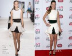Hilary Swank In Giambattista Valli Couture -  'The Homesman' AFI FEST 2014 Premiere