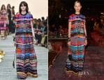 Karolina Kurkova In Roberto Cavalli - Vogue Fashion Dubai Experience: Gala Event