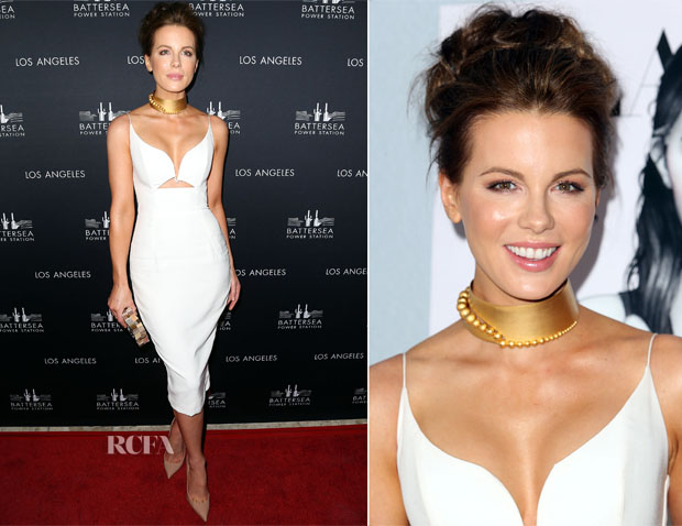 Kate Beckinsale In Zimmermann - Battersea Power Station Global Launch Party