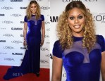 Laverne Cox In Marc Bouwer - Glamour Women Of The Year Awards