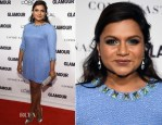 Mindy Kaling In Salvador Perez - Glamour Women Of The Year Awards