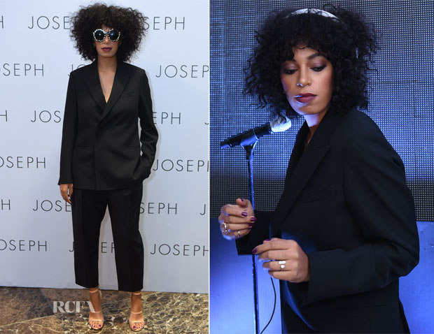 Solange Knowles In Joseph - Joseph Philippines Store Opening