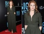 Amy Adams In Max Mara - 'Big Eyes' New York Premiere