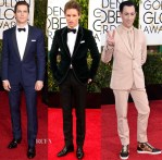 2015 Golden Globes Menswear Roundup