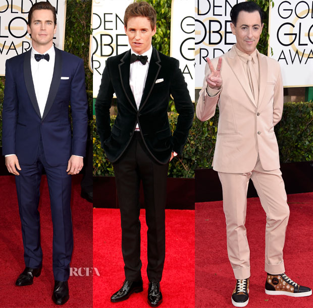 2015 Golden Globes Menswear Roundup