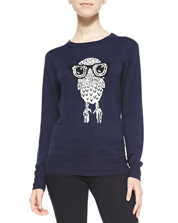 FRENCH CONNECTION Owl Sweater