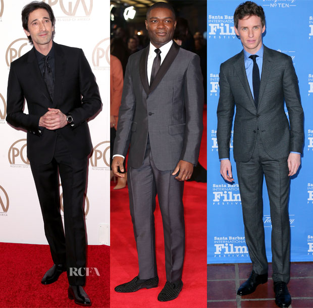 Menswear Red Carpet Roundup 30 jan