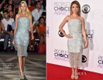 Sarah Hyland In Christian Siriano - 2015 People's Choice Awards
