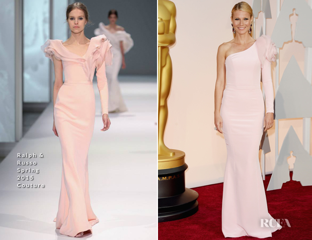 Gwyneth Paltrow In Ralph & Russo Couture - 2015 Oscars