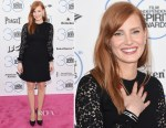 Jessica Chastain In Saint Laurent - 2015 Film Independent Spirit Awards