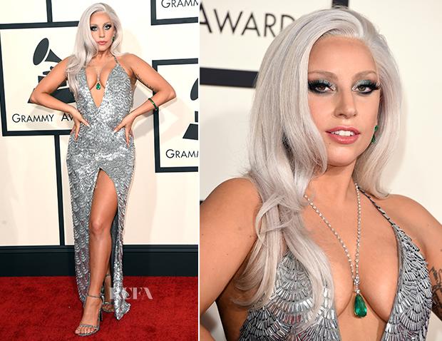 Lady Gaga In Brandon Maxwell - 2015 Grammy Awards